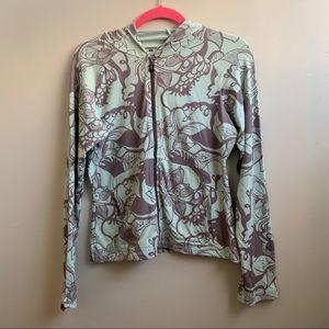 Patagonia floral print hoodie M